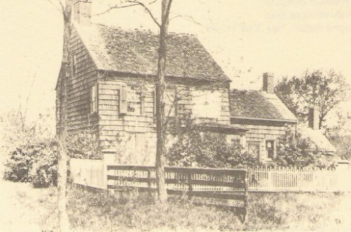 Whitman birthplace, 1903