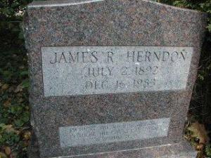 ts-herndon gravesite